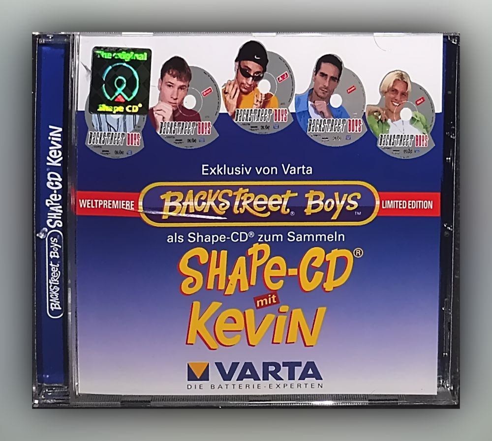 Backstreet Boys - Shape-CD Kevin - CD