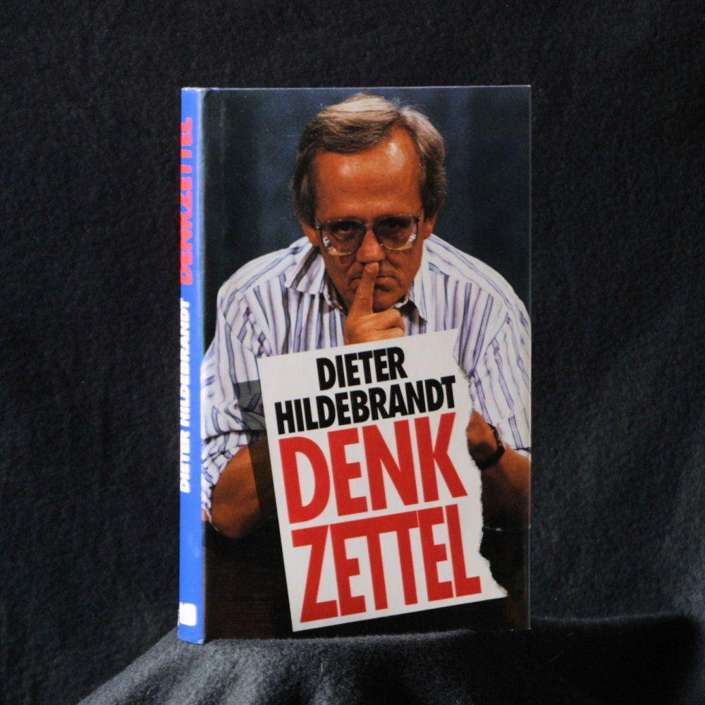 Dieter Hildebrandt - Denkzettel - Buch