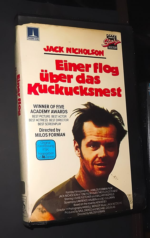Milos Forman - Einer flog übers Kuckucksnest - VHS