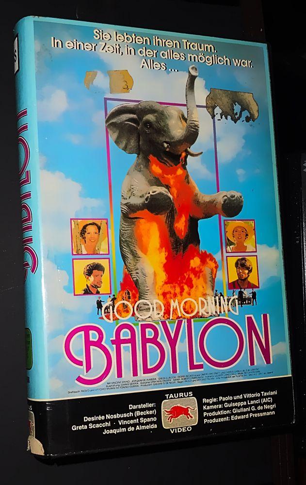 Paolo Taviani Vittorio Taviani - Good Morning Babylon - VHS