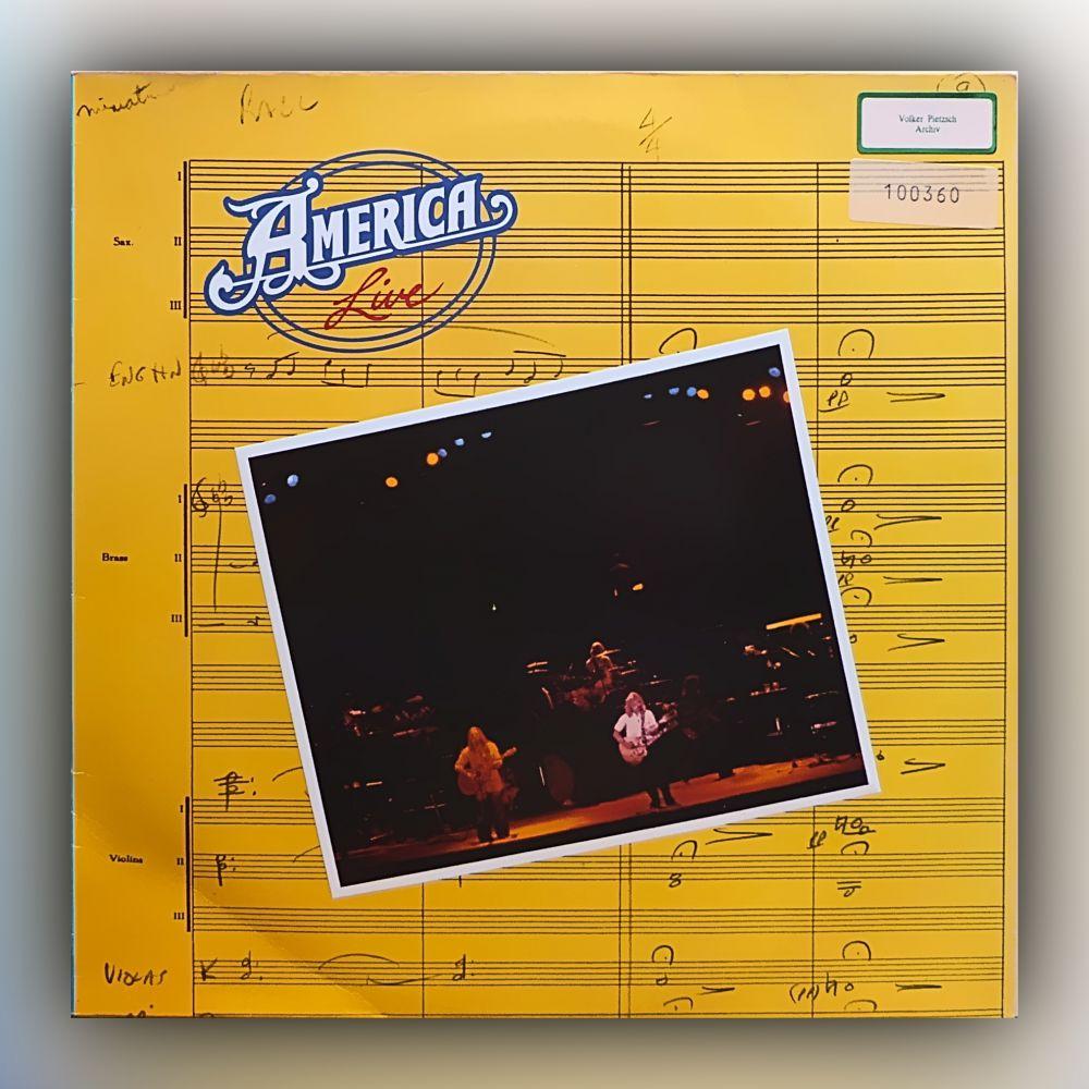 America - Live - Vinyl