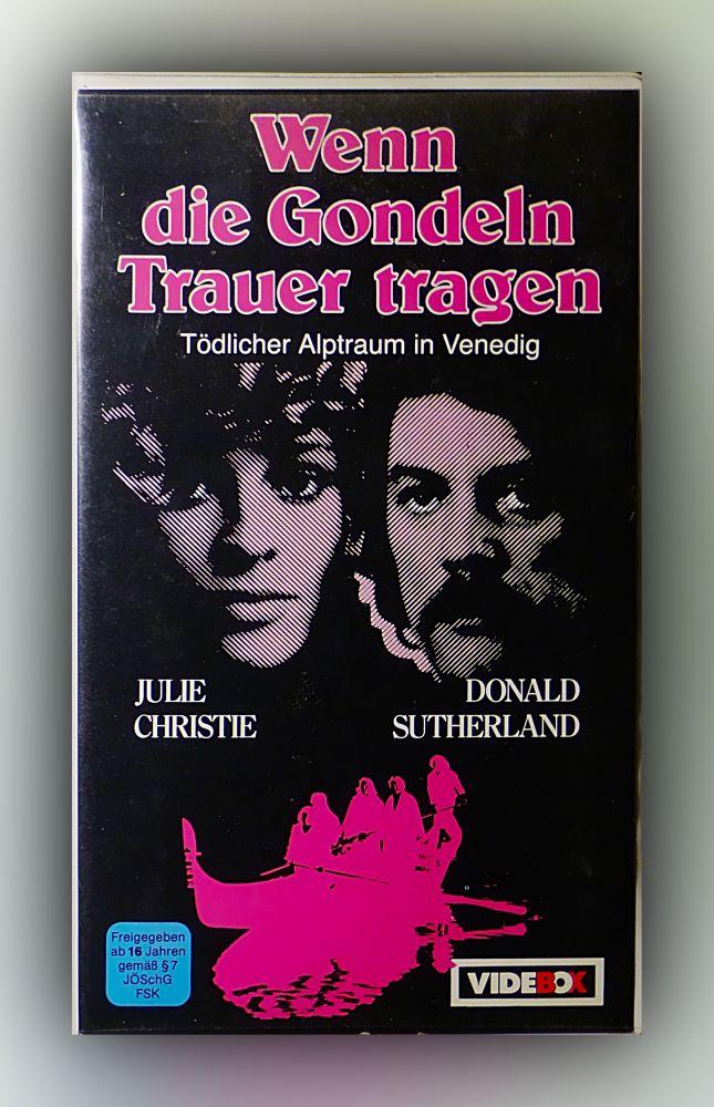 Nicolas Roeg - Wenn die Gondeln Trauer tragen - VHS