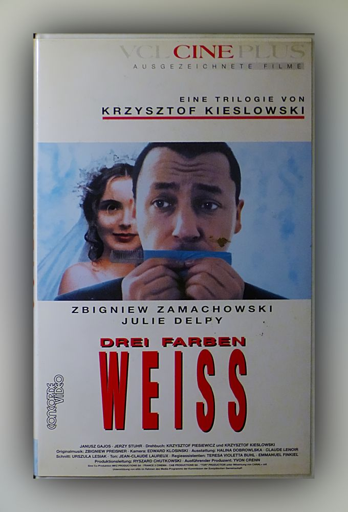 Krzysztof Kieslowski - Drei Farben - Weiss - VHS