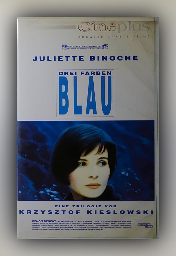 Krzysztof Kieslowski - Drei Farben - Blau - VHS