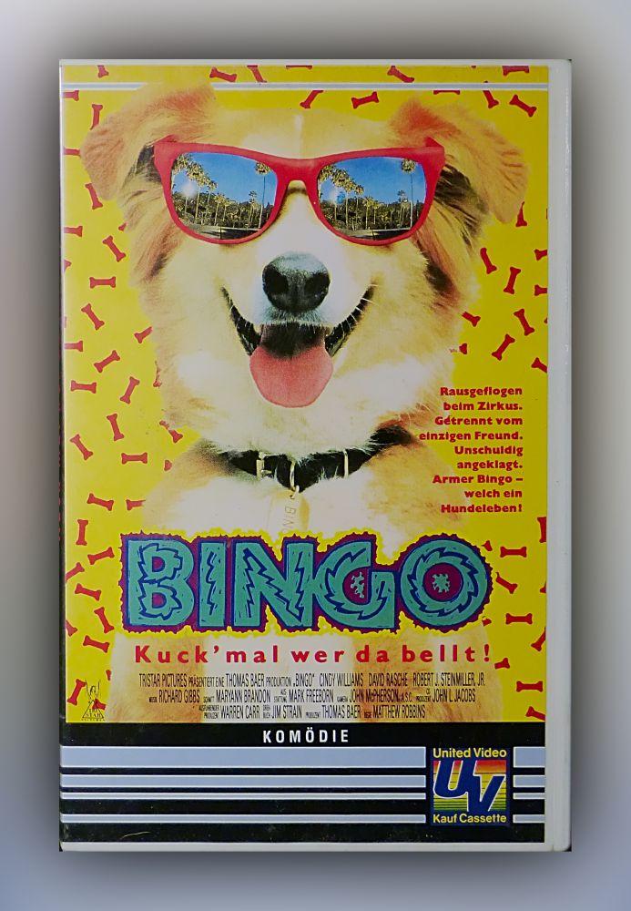 Matthew Robbins - Bingo - Kuck' mal wer da bellt - VHS