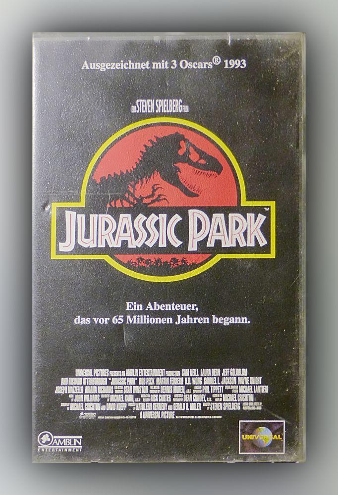 Steven Spielberg - Jurassic Park - VHS