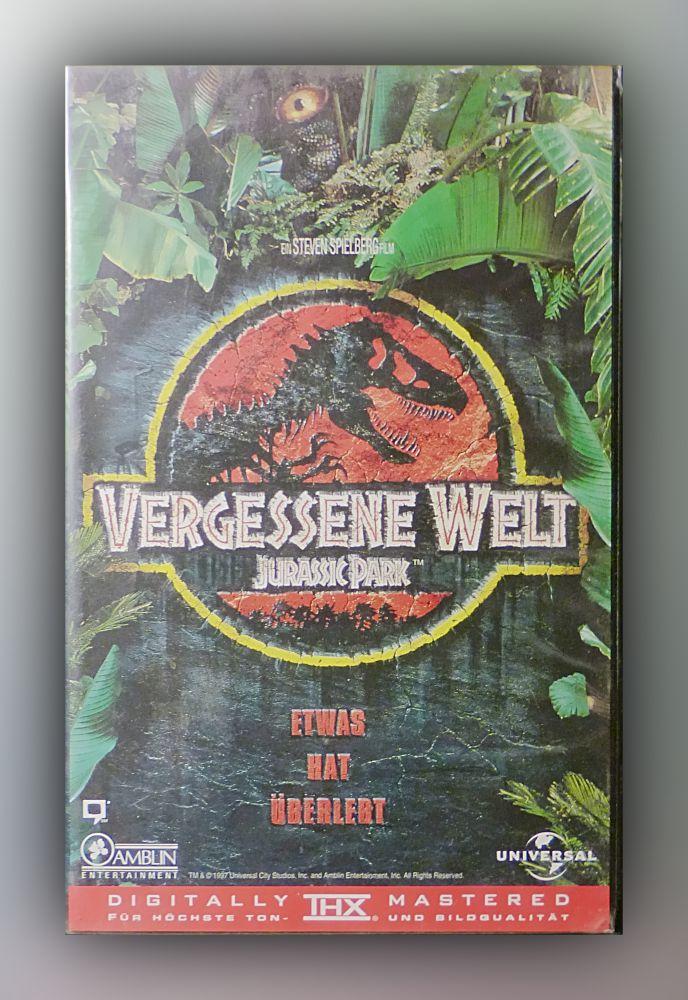 Steven Spielberg - Vergessene Welt - VHS