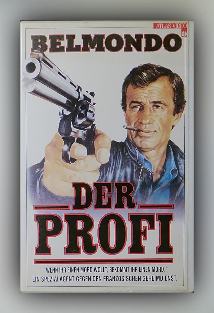 Georges Lautner - Der Profi - VHS