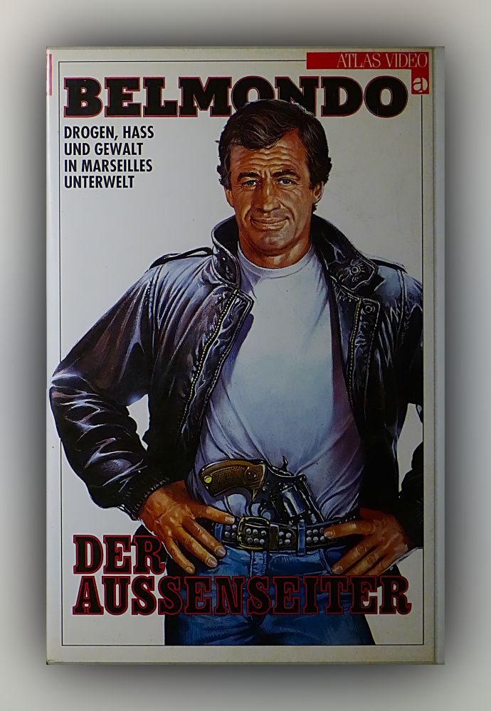 Jacques Deray - Der Aussenseiter - VHS