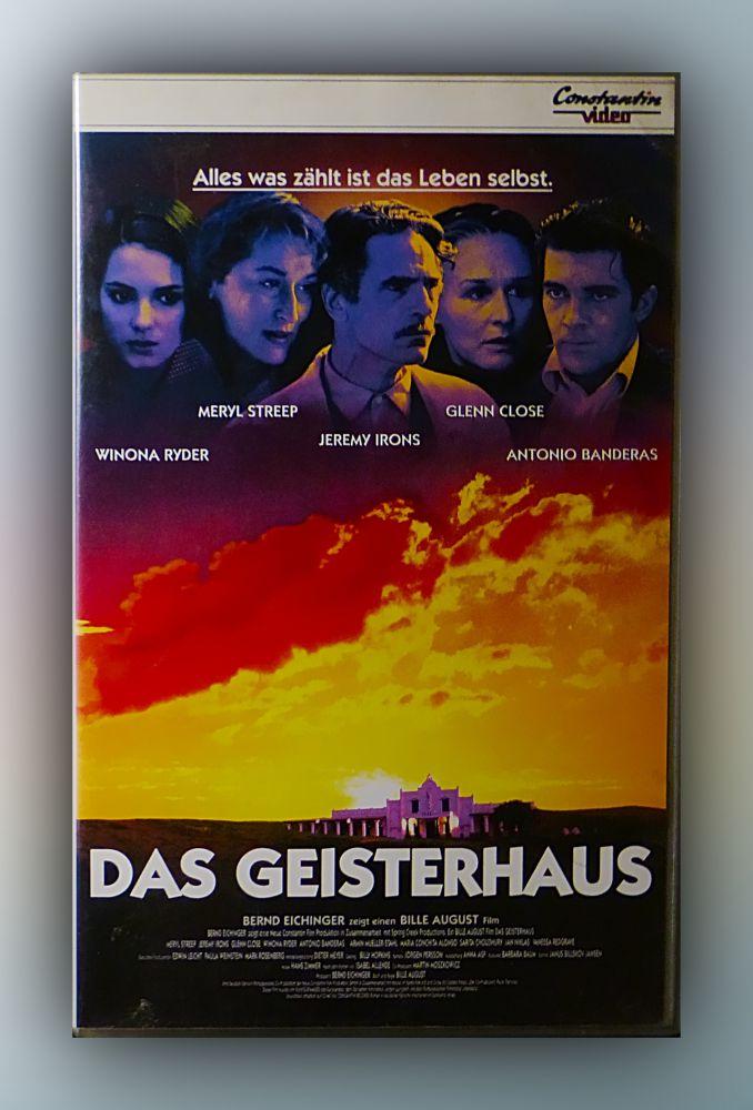 Bille August - Das Geisterhaus - VHS