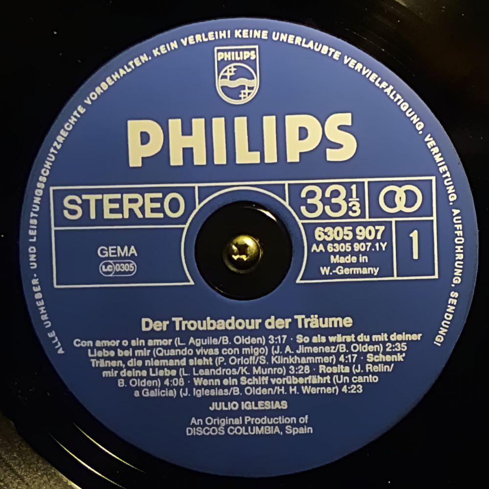 Julio Iglesias - Troubadour der Träume - Vinyl