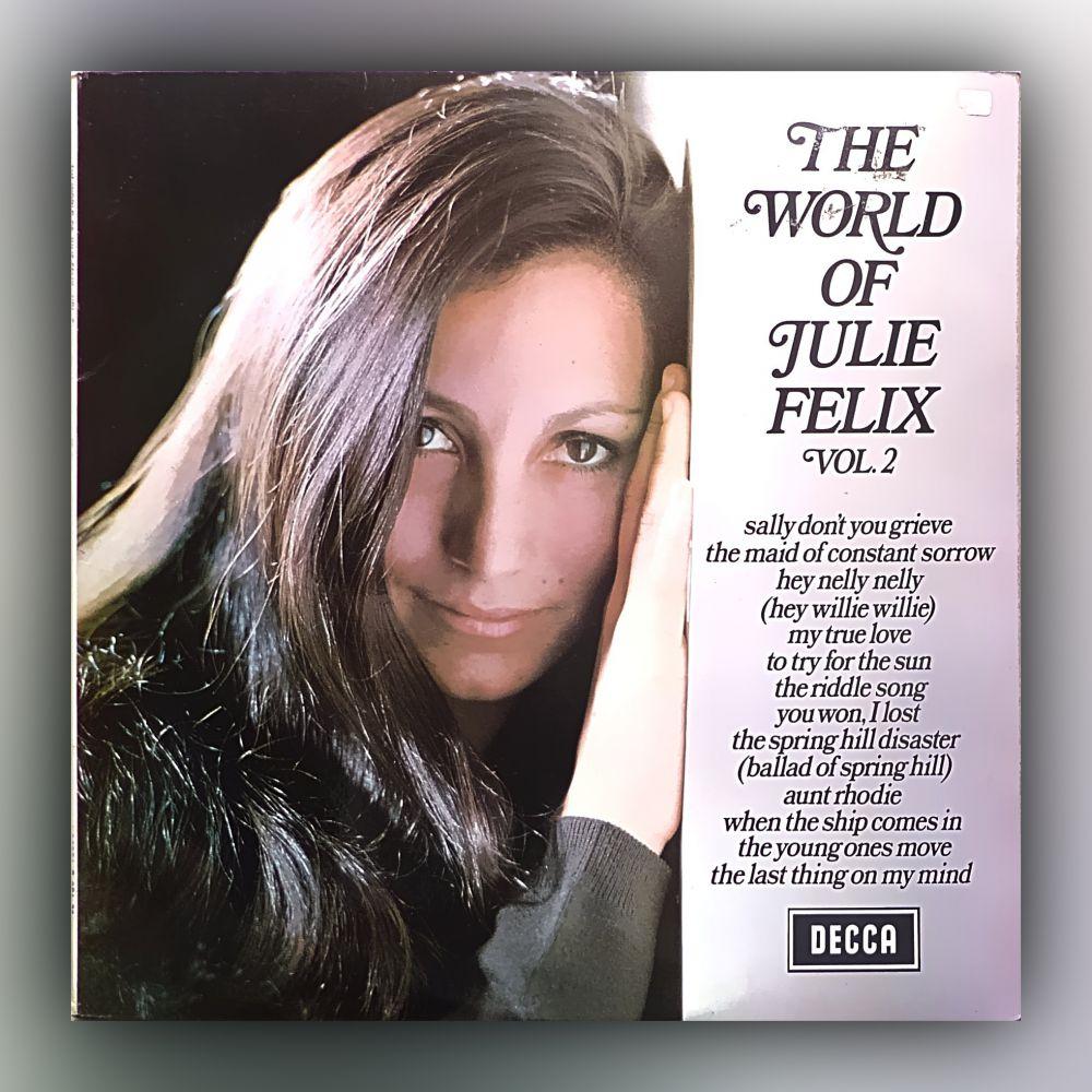 Julie Felix - The World of Julie Felix - Vinyl