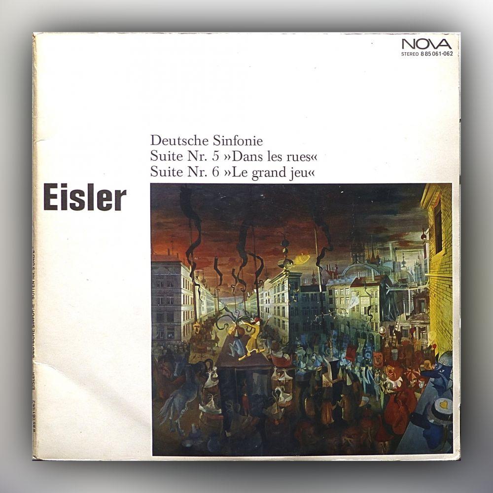 Hanns Eisler - Deutsche Sinfonie, Suiten Nr. 5 und 6 - Vinyl
