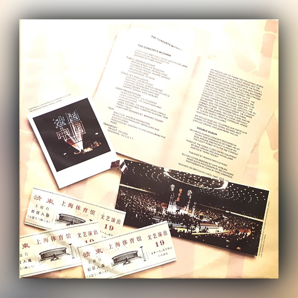Jean Michel Jarre - The Concerts In China - Vinyl