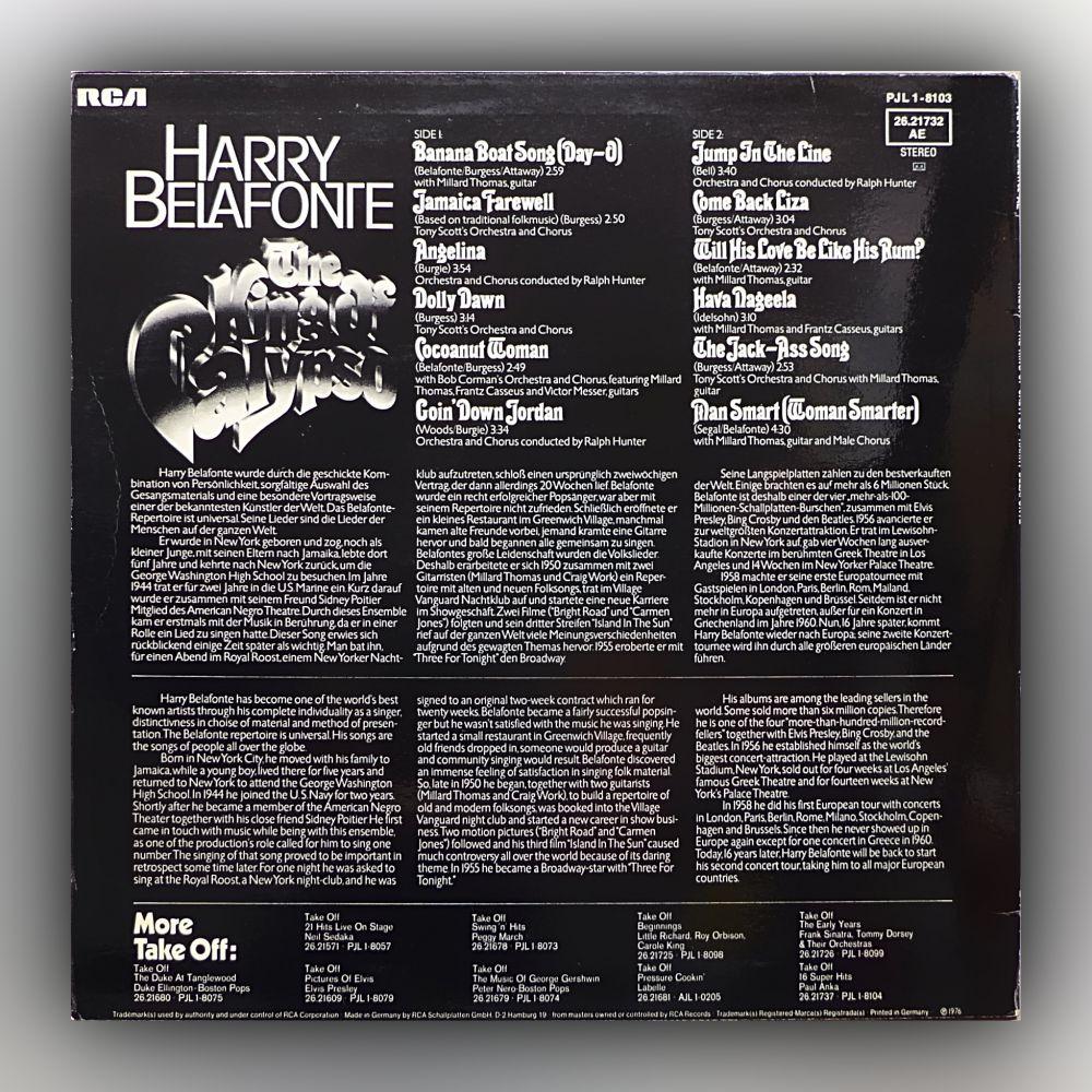 Harry Belafonte - The King of Calypso - Vinyl