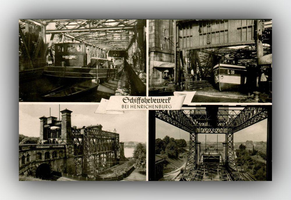 Schiffshebewerk Henrichenburg - Postkarte
