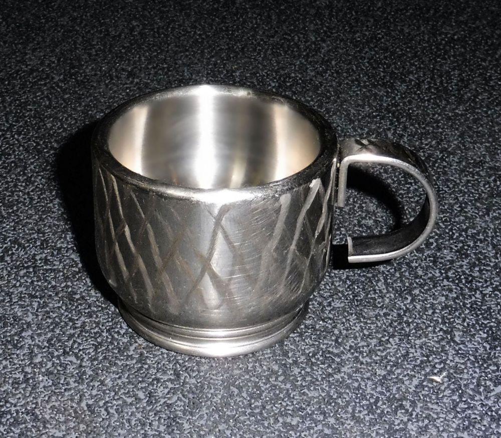 Edelstahl Espresso Tasse