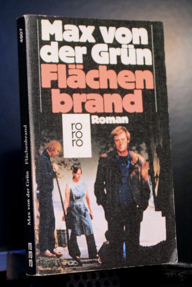 Max von der Grün - Flächenbrand - Buch