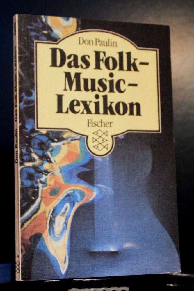 Don Paulin - Das Folk-Music-Lexikon - Buch