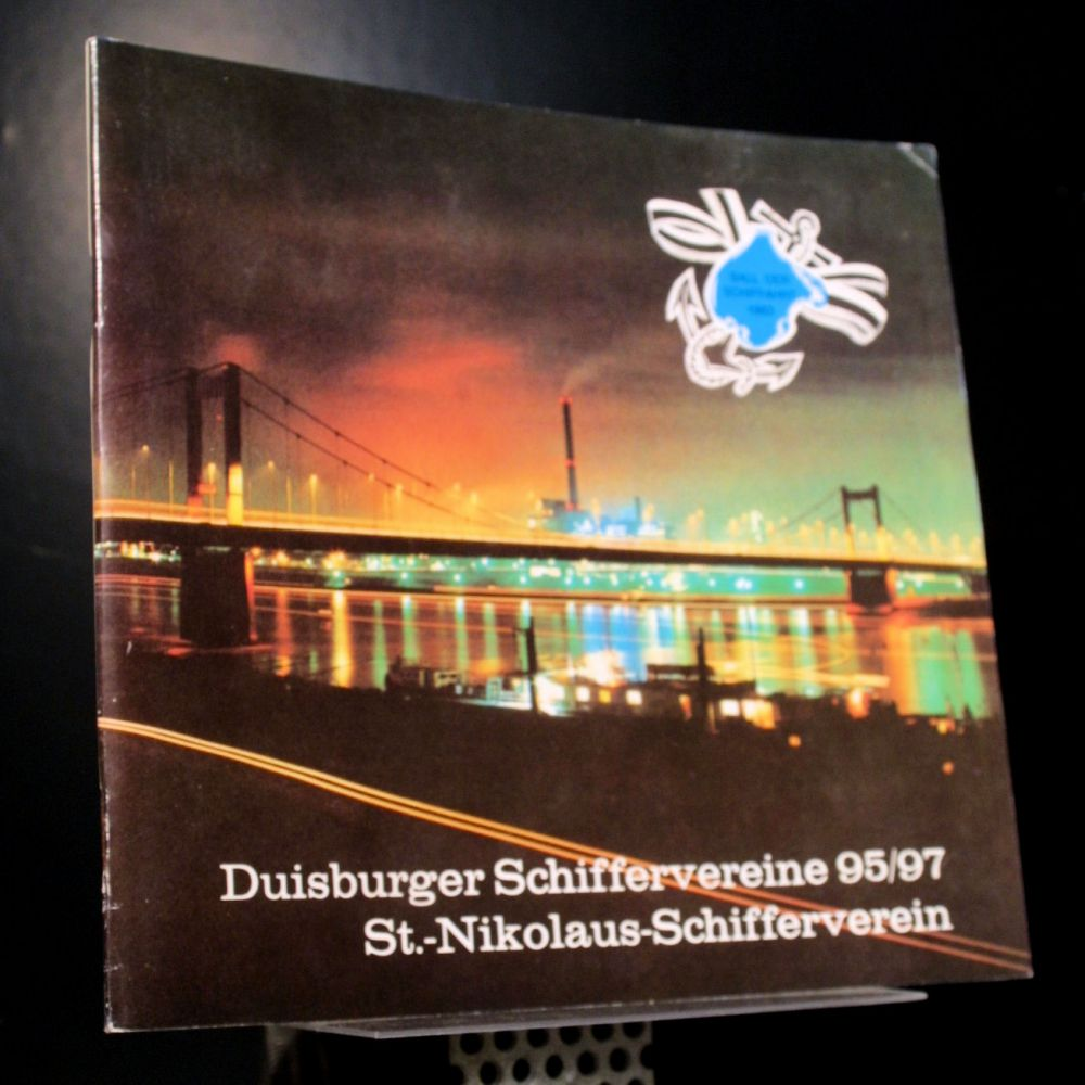 Duisburger Schiffervereine 95/97 St.-Nikolaus-Schifferverein - Ball der Schiffahrt 1983 - Heft
