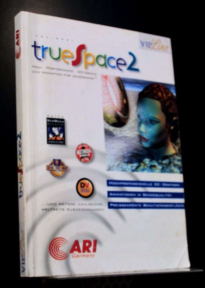 Caligari - Truespace2 - Buch
