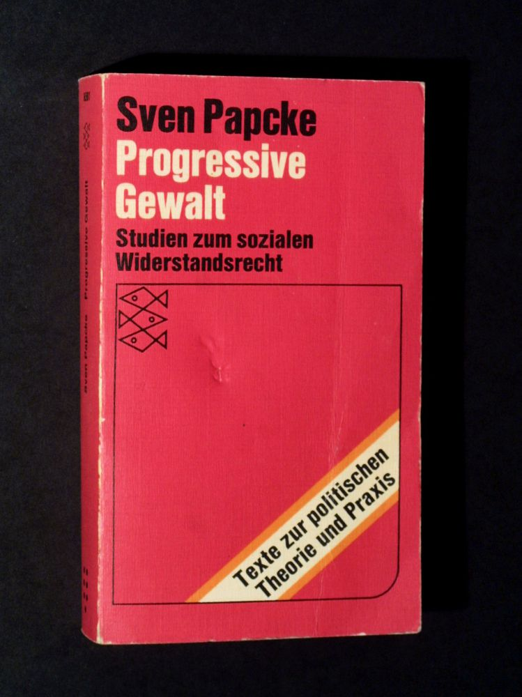 Sven Papcke - Progressive Gewalt - Buch