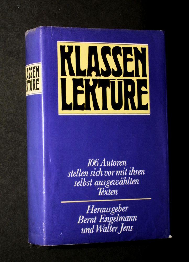 Bernt Engelmann & Walter Jens - Klassenlektüre