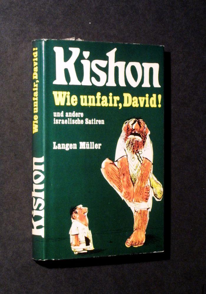 Ephraim Kishon - Wie unfair, David. - Buch
