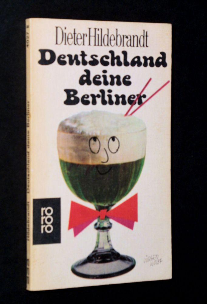 Dieter Hildebrandt - Deutschland deine Berliner - Buch