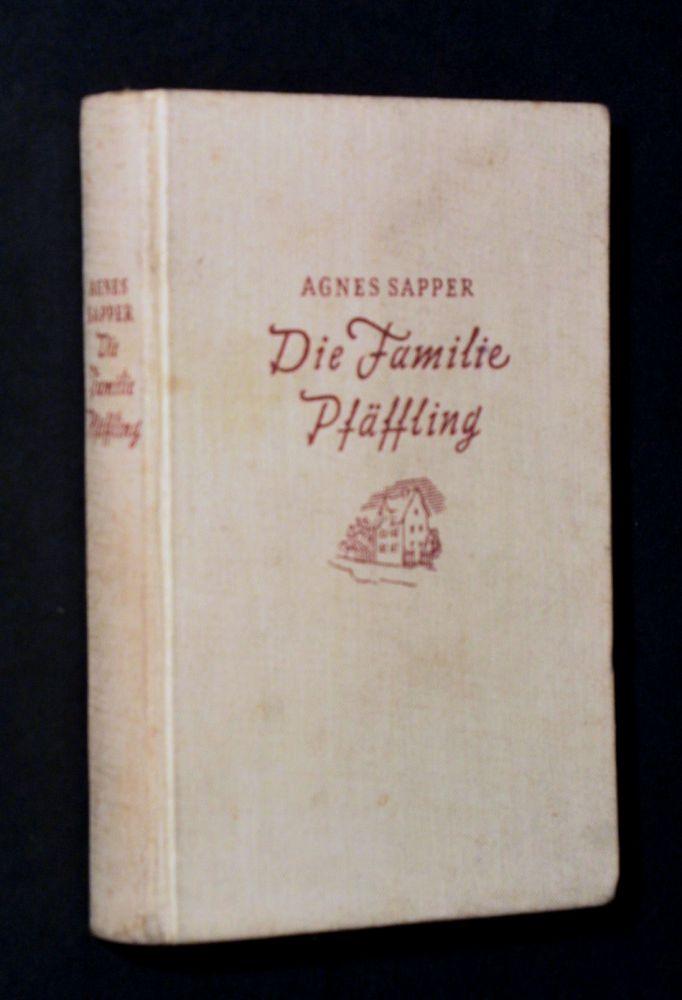 Agnes Sapper - Die Familie Pfäffling - Buch