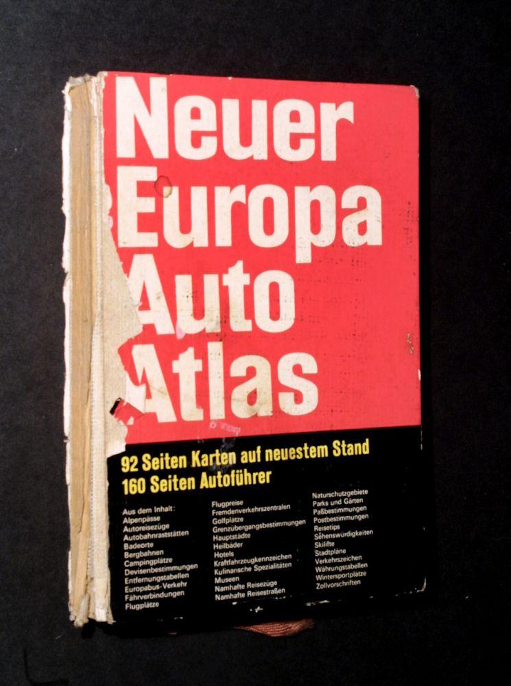 Neuer Europa Auto Atlas - Buch