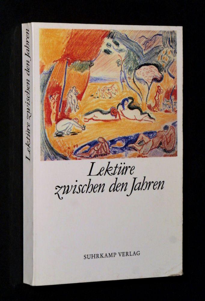 Gottfried Honnefelder - Lektüre zwischen den Jahren