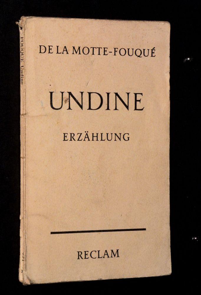 Friedrich de la Motte Fouqué - Undine - Buch