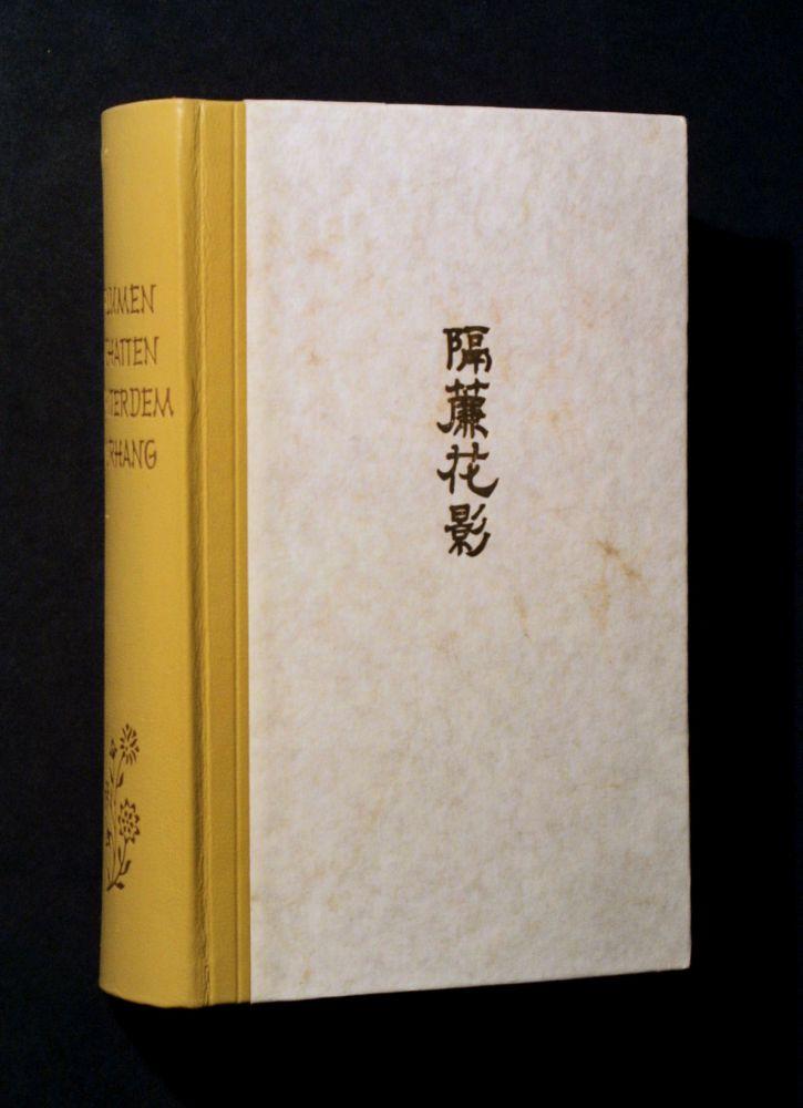Franz Kuhn - Blumenschatten hinter dem Vorhang - Buch