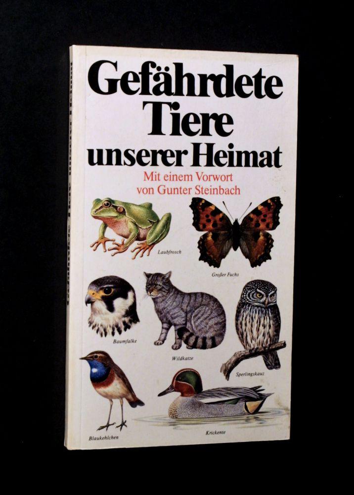 Helmut Fürsch - Gefährdete Tiere unserer Heimat - Buch