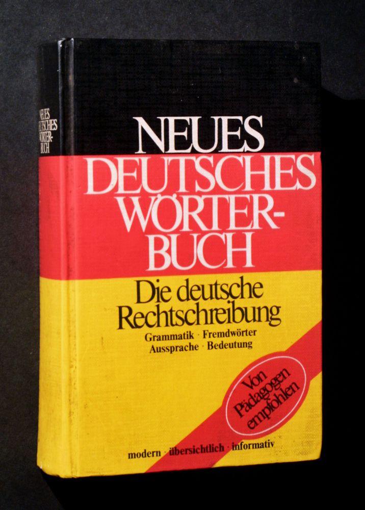 Neues Deutsches Wörterbuch - Buch